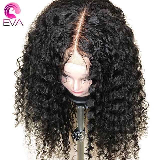 4,5x4,5 Seide Basis Lace Front Menschenhaar Perücken Mit Baby Haar Lockige Brasilianische Remy Haar Silk Top Spitze perücken Gebleichte Knoten Eva Haar