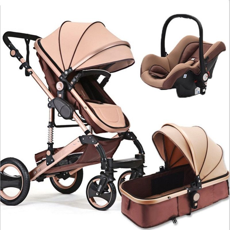 Stroller certification 3 year warranty baby stroller 0 - 3 years Multi-color choices Natural Rubber <font><b>Four</b></font> Wheel