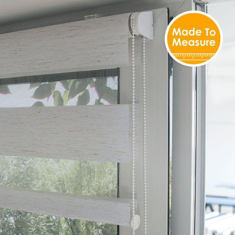 Mini Rouleau Stores Aucun Forage 100% Polyester Translucide Zèbre Stores pour Salon pour petite fenêtre nuances Personnalisé Taille