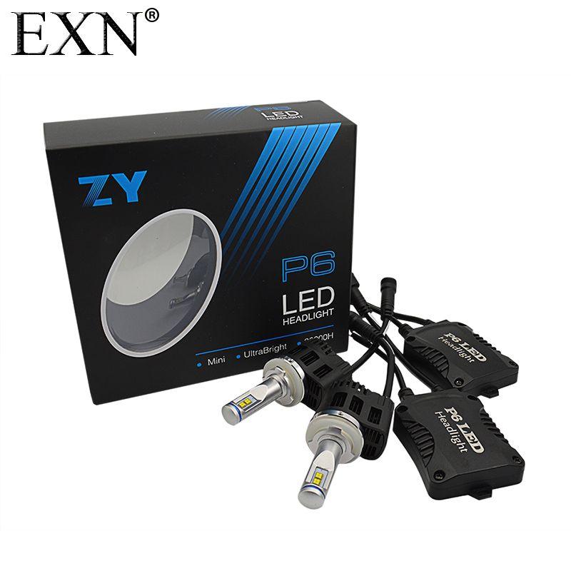 2x P6 H15 LED Headlight Bulb DRL Fog Lamp H15 110W 10400LM 6000K 5000K LED Headlight Bulb Canbus Error Free LED Head Lamp H15