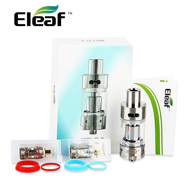 Original <font><b>Eleaf</b></font> Melo 2 Atomizer 4.5 ml E-liquid Capacity Airflow Adjustable Subohm Melo II Atomizer E-Cig Atomizer for Istick TC