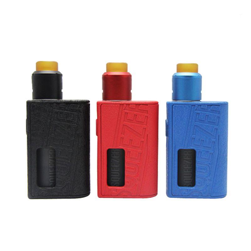 Original Hugo Dampf Squeezer Kit mit N BF RDA 10 ml mit Squonk Mechanische Mod elektronische zigarette kit hugovapor