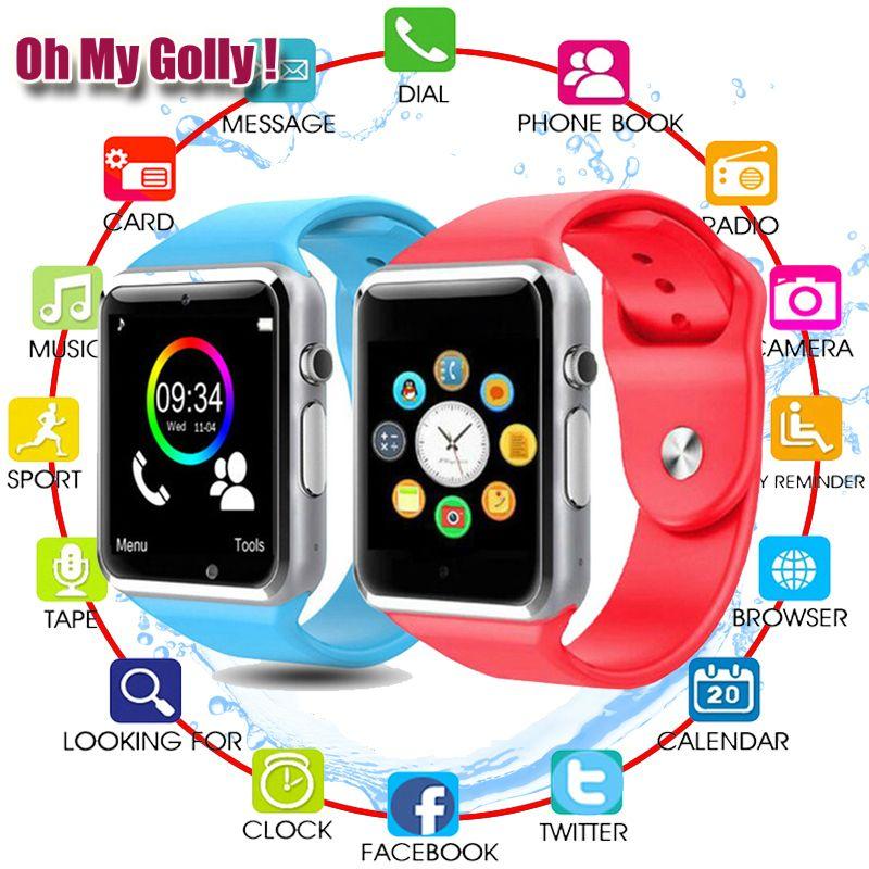 Montre intelligente pour enfants enfants bébé hommes femmes montre téléphone 2G carte Sim Dail appel écran tactile étanche Smart Clock smartwatch