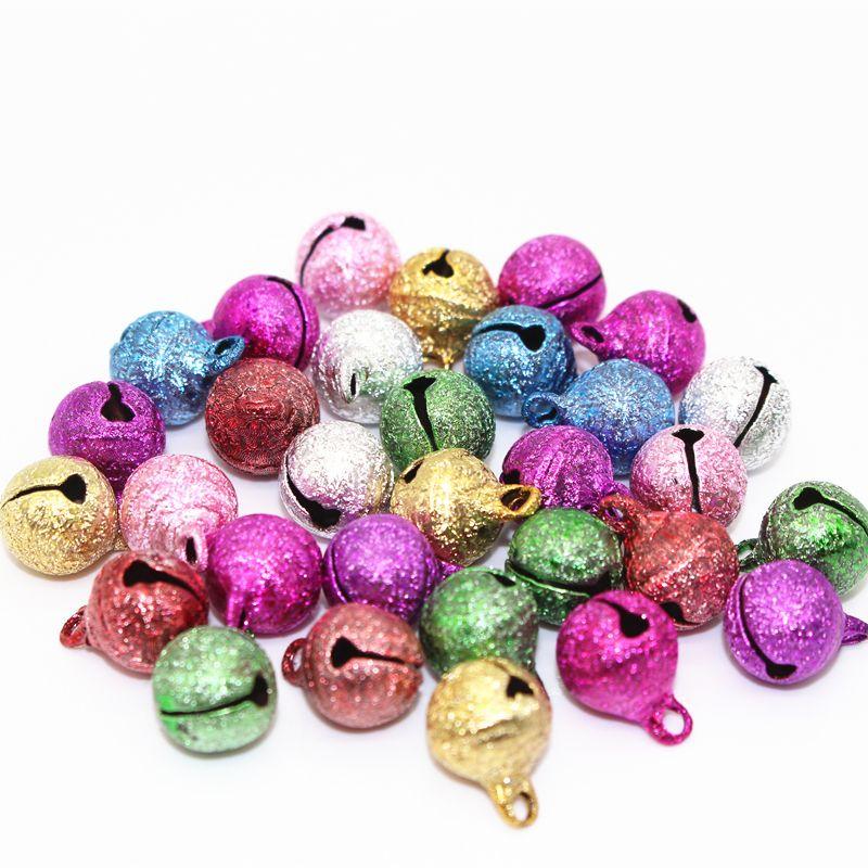 8 10 12mm Couleur de Mélange Jingle Bell Petit Cloches De Cuivre Métal Fit Festival de Bijoux Pendentifs Charme Perles De Noël Jingle cloches