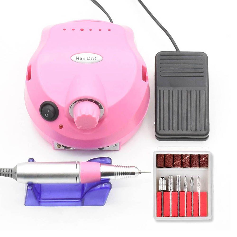 30000RPM Pro Electric Nail Drill Machine Acrylic Nail File Drill Manicure Pedicure Kit Nail Art Equipment Manicure Machine