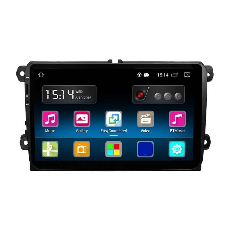 RM-VWTY90 9 zoll Android 5.1 Car Multimedia Stereo Player A2DP GPS 1G DDR3 + 16G NAND Speicher Flash für VW Passat Golf Jetta Polo
