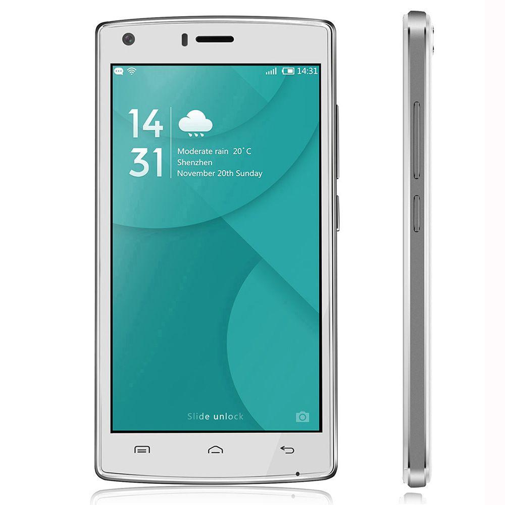 Origine Doogee X5 Max 3G Mobile Téléphone 5.0 ''MTK6580 Quad Core Android 6.0 HD Écran Double SIM D'empreintes Digitales ID 4000 mAh téléphone portable