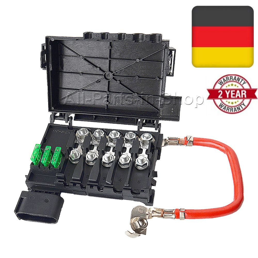 Fuse Box Battery Terminal for A3 8L1 OE#1J0937617D, 1J0937550, 1J0937550AA, 1J0937550AB AC AD 1.9 1.8 1.6 S3