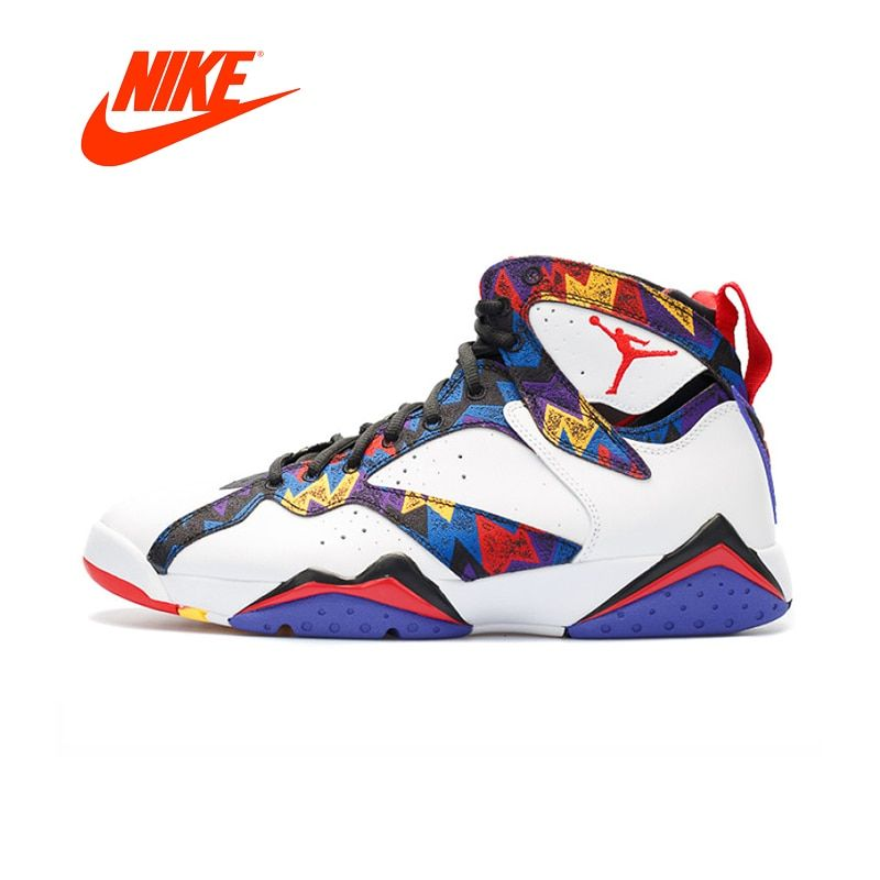 Original New Arrival Authentic Nike Air Jordan 7 Retro Aj7 Men's Basketball Shoes Sport Outdoor Sneakers Good Quality 304775-142