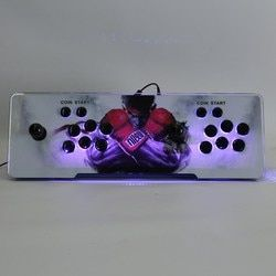 10 3D Games and 400 2D Games in 1 Pandora's Box 5S Retro Video Games Double Stick Arcade Console Coin Operated Games