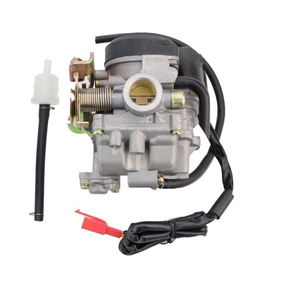 GOOFIT PD18J Carburetor 18mm Carb for Scooter GY6 50cc 49cc 60cc Chinese 139qmb Moped 49cc 60cc Carburettor N090-073-1