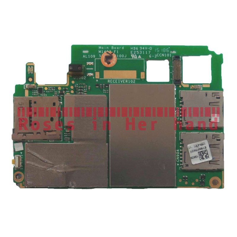 Working Original Unlocked Motherboard For Sony Xperia M4 Aqua Dual-SIM E2312 E2333 E2363 Logic Mother Circuit Board Lovain Plate