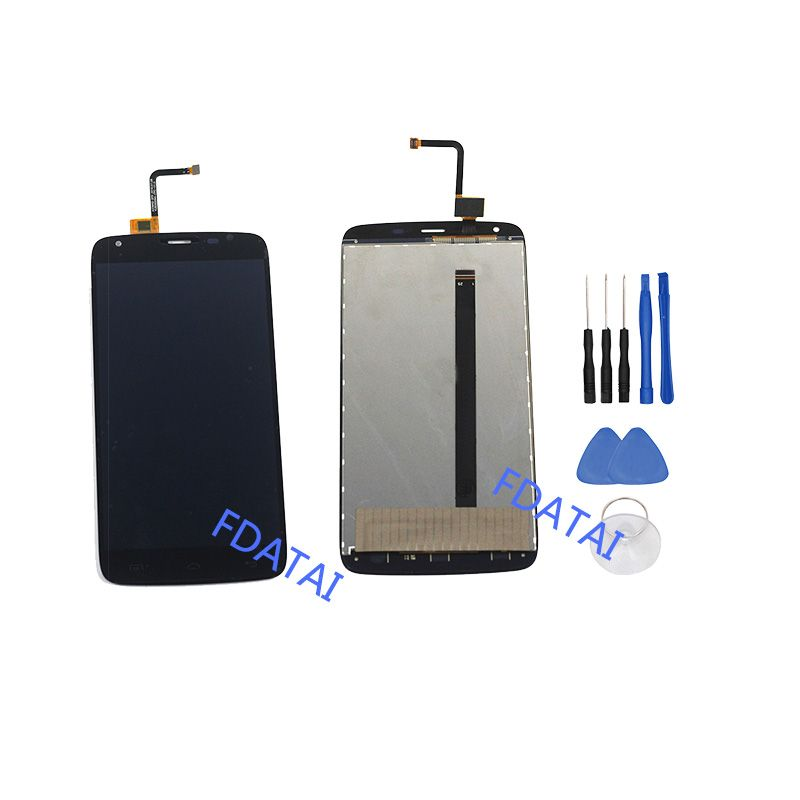 For HOMTOM HT6 LCD Display and Touch Screen 100% New Tested Digitizer Assembly Repair Parts For HOMTOM HT6 LCDS With free Tools