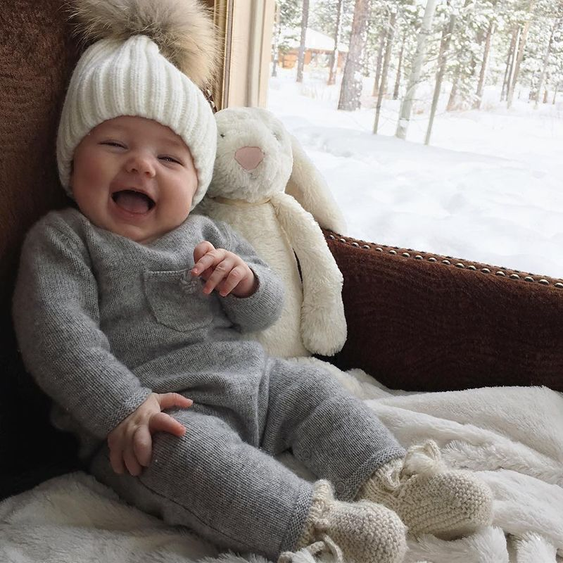 Baby Girl Clothes Winter Newborn Rompers Bebe Jumpsuits Knit Floral Vintage Toddler Costume Onesie Infant Boys Tiny Cottons 2018