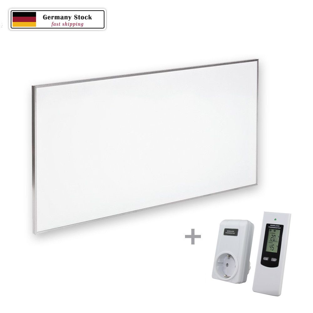 Radiant Infrared Heater 600W Wall & Ceiling Thermostat Included