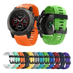 Baru 14 Warna Tersedia Silikon Lembut Pengganti untuk Garmin Fenix 3/Fenix 3 Hr/Fenix 5X smart Watch 26 Mm Tali
