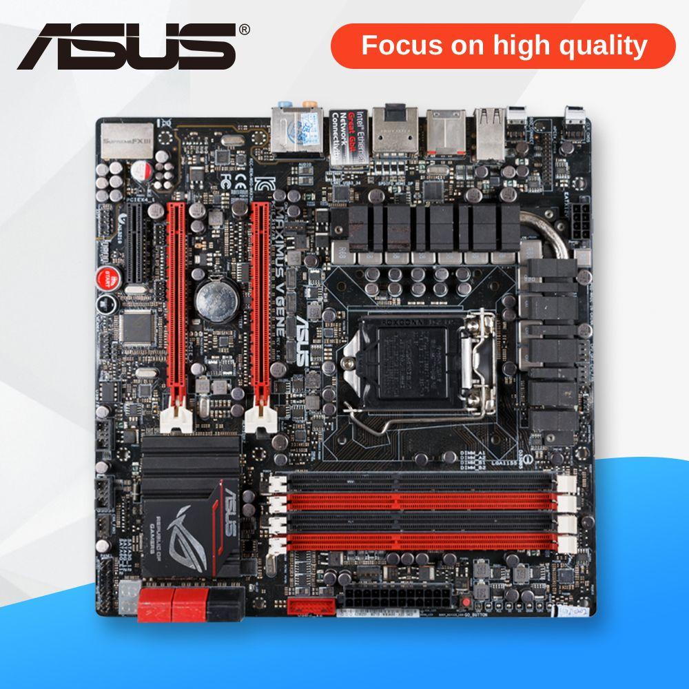 Asus ROG Maximus V Gene Desktop Motherboard M5G Z77 Socket LGA 1155 i5 i7 E3 DDR3 32G uATX