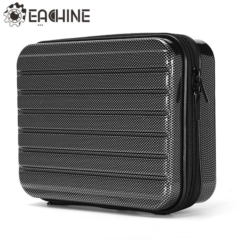 Eachine E58 RC Drone Quadcopter Hard Shell Waterproof Carrying Case <font><b>Storage</b></font> Box Handbag for FPV Racing Drone Accessories Parts