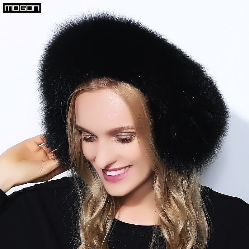 Cache Oreille Promotion 2017 Fashion Trend Winter Full Leather Natural Fox Fur Ear Muffs Thermal Girl Women's Earmuffs Package