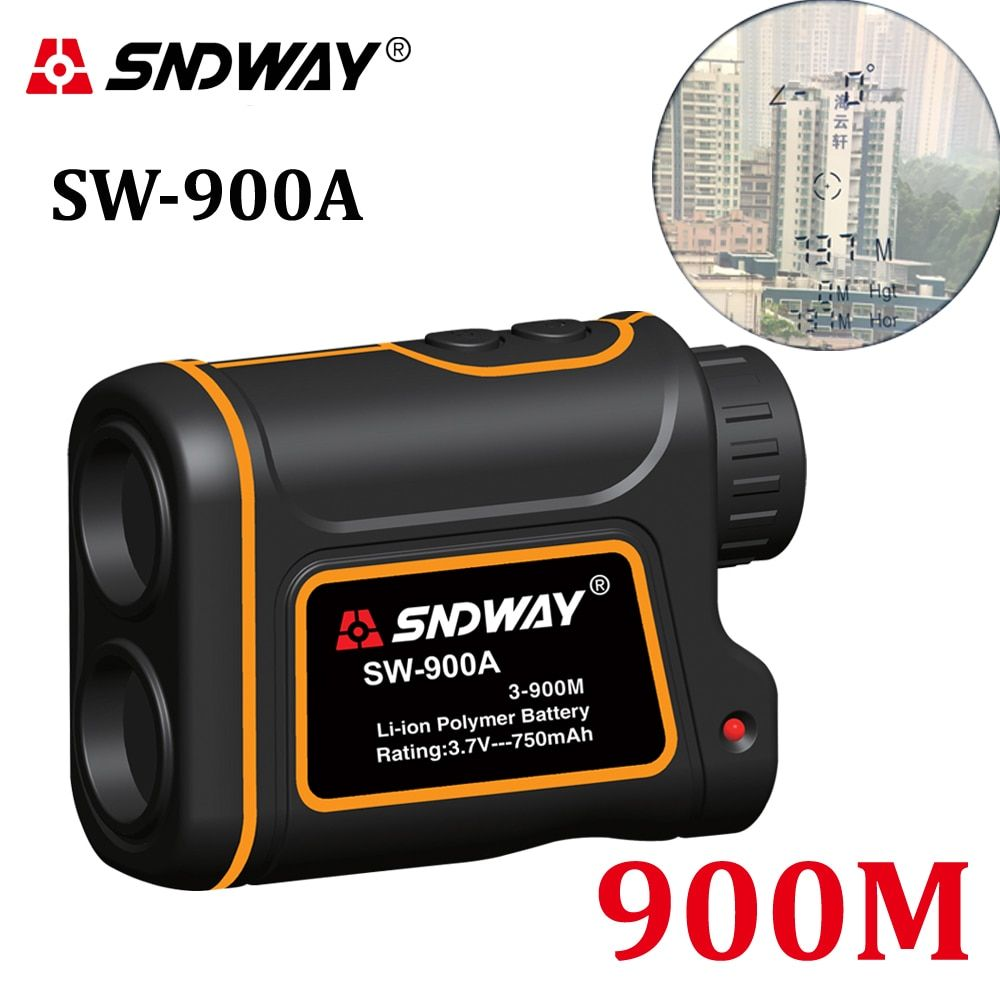 Telescope trena laser rangefinders distance meter Digital 8X 900M 1000M Monocular hunting golf laser range finder tape measure