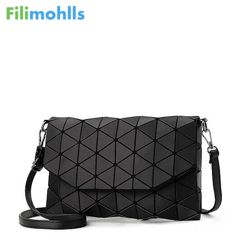 2018 new small solid plaid geometric lingge envelope <font><b>handbag</b></font> women clutch ladies purse crossbody messenger shoulder bags S1187