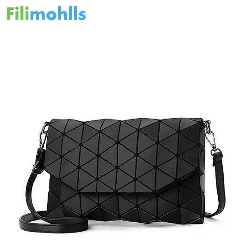 2018 new small solid plaid geometric lingge envelope handbag women clutch ladies purse <font><b>crossbody</b></font> messenger shoulder bags S1187
