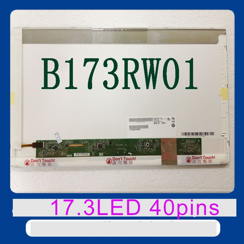 New brand 17.3 led screen B173RW01 LP173WD1 N17306-L02 LTN173KT01 LTN173KT02 LTN173KT03 N173FGE N173FGE-L11 laptop led screen