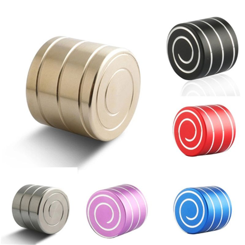 Vortecon Kinetic Desktop Toys Copper/ Aluminum Alloy Decompression Hypnosis Rotary Gyro Adult Fingertip Toy Children Toys Gift