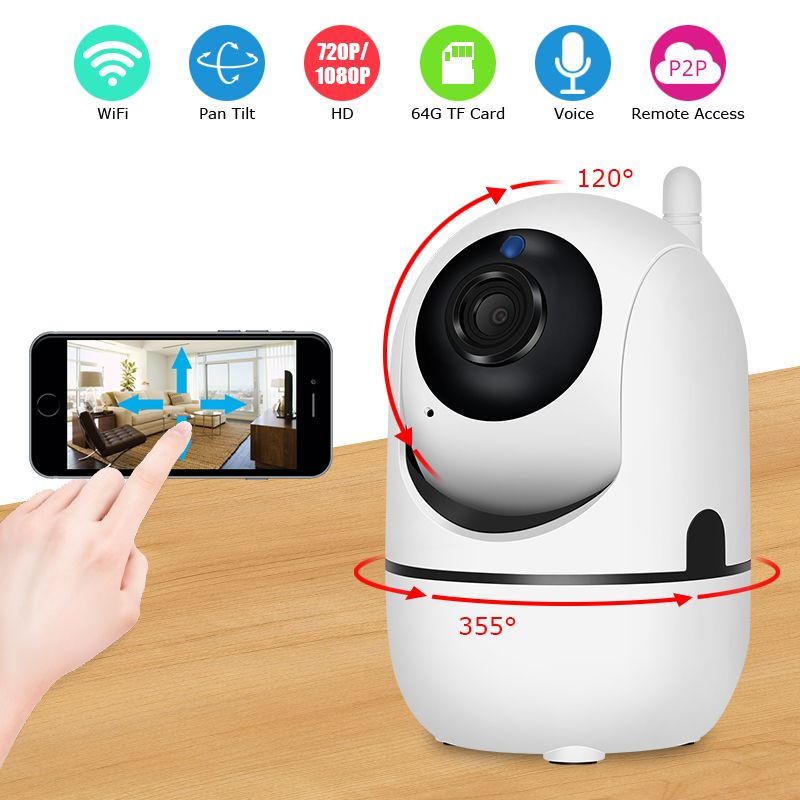 ANRAN IP Camera Wifi 720P 1080P Optional Video Surveillance Camera Night Vision Home Security Camera Two-Way Audio Baby Monitor