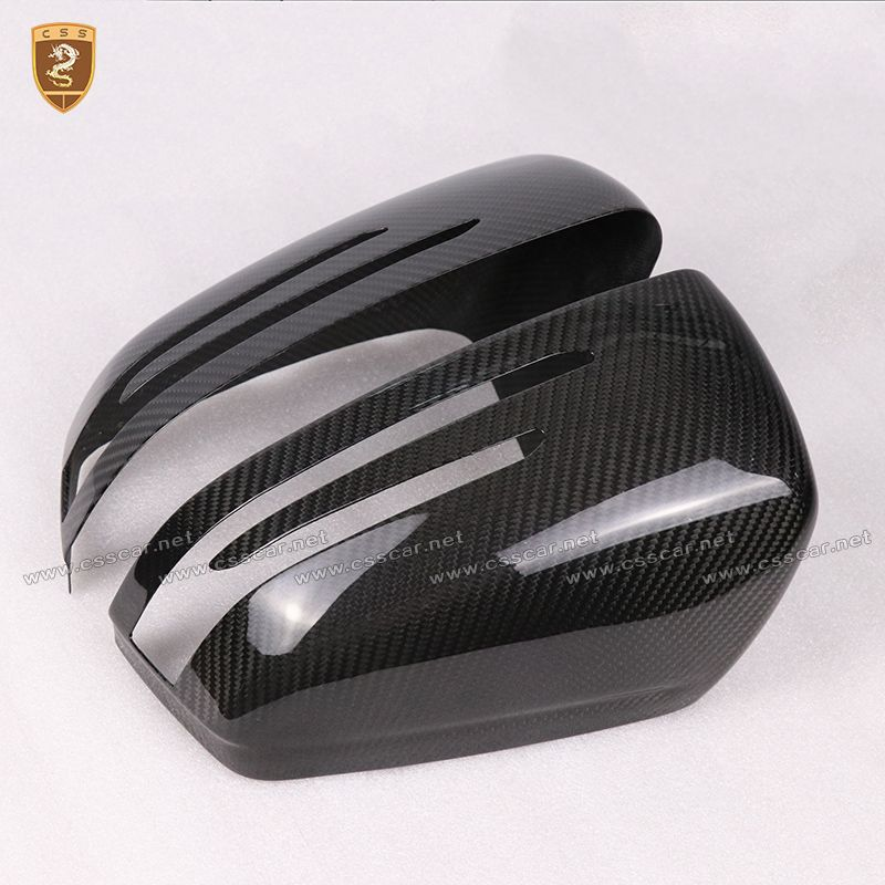 Real Carbon Fiber Mirror Cover For Mercedes Benz W204 A W176 E W212 E W207 GLA X156 CLA W117 CLS W218 C Class Add on Style