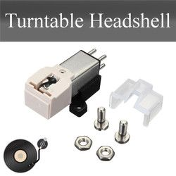 Turntable Cartridge + Installation Kit With Stylus Needles Metal for Technica 3600L/Universally Fits MM/LP Turntable Stylus