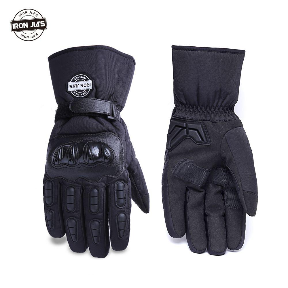 Warm Motorcycle Gloves Winter Waterproof Windproof Protective Gloves 100% Waterproof Guantes Moto Luvas Alpine Motocross Stars