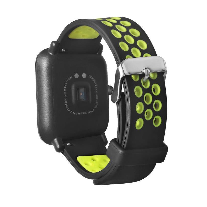 HL 2017 Mode Leichten Lüften Smart Handschlaufe Armband Für AMAZFIT Sport Smartwatch drop verschiffen aug30