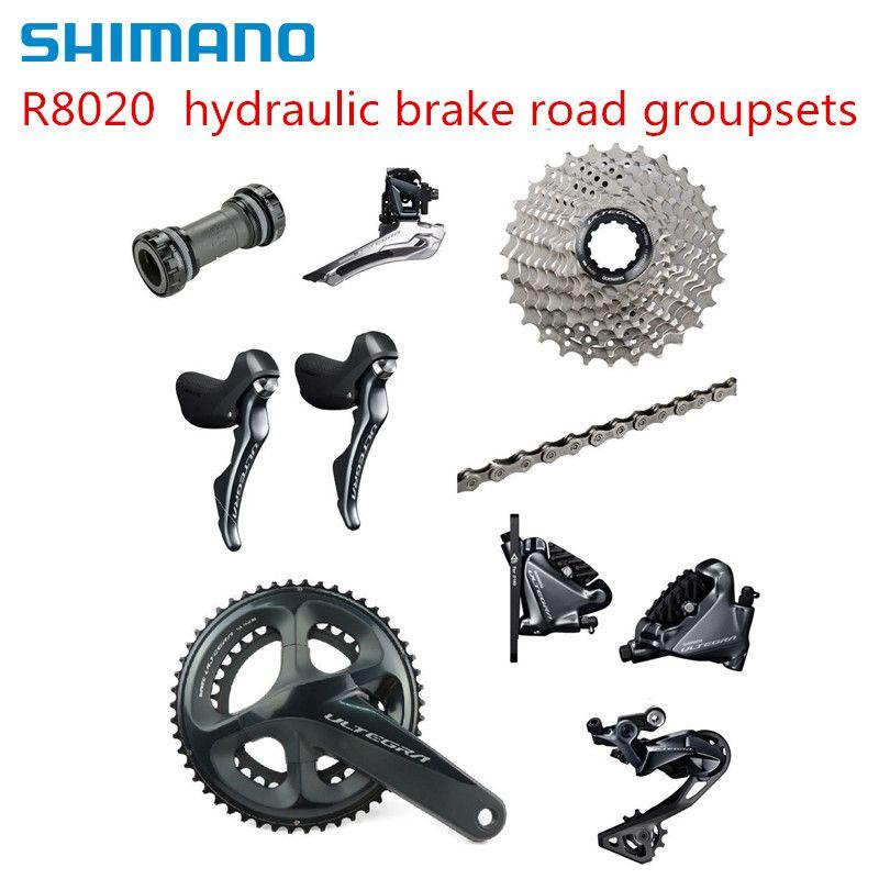 Shimano Ultegra R8020 2x11 Speed Hydraulische Scheiben Bremse Groupset Bauen Kit Schaltwerke STRAßE Fahrrad R8070