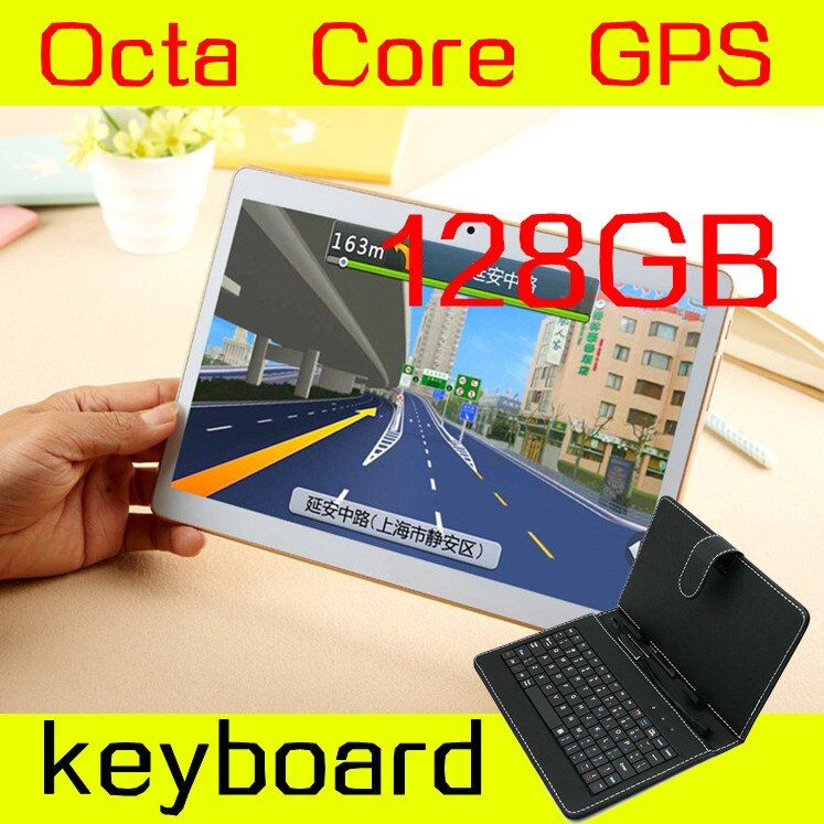 10 inch tablet 1280X800 IPS 8 octa core 4GB ram ROM 128GB 3G mtk6592 Dual SIM card phone call Android Tablet PC GPS Mini 5.1
