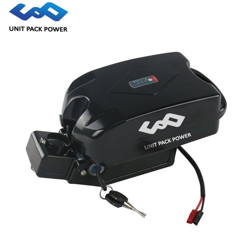 48 v 14Ah Li ionen Batterie 48 V Sitz Post F rog Batterie mit Sanyo/Samsung Zelle Fit für 48 V 1000 W 750 W Elektrische Fahrrad motor