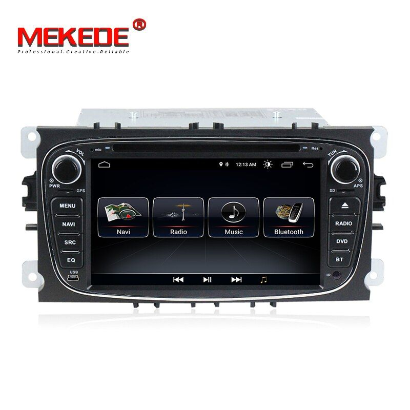 TDA7851 Android 8.0 Car DVD Player GPS Navigation for Ford Focus Mondeo Galaxy with Audio Radio Stereo Head Unit free shipping