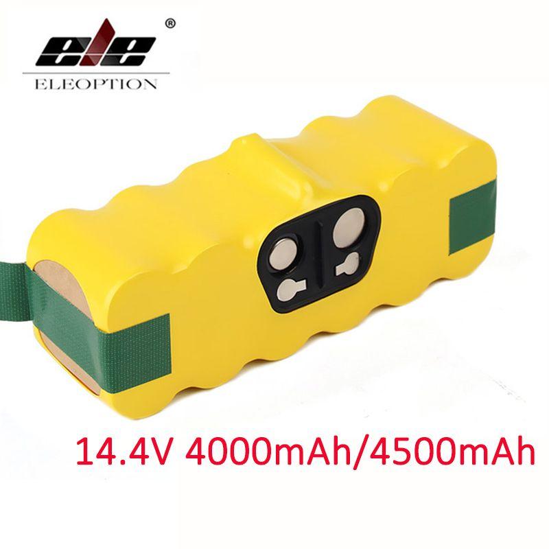 4000mAh/4500mAh 14.4V Battery For iRobot Roomba Vacuum Cleaner 500 510 530 570 580 600 630 650 700 780 790 Rechargeable Battery