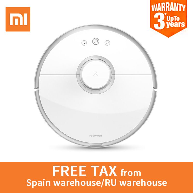 International version xiaomi mi roborock s50 robot vacuum cleaner 2 WIFI APP Control Wet drag mop Smart Planned with water tank