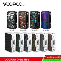 В наличии VOOPOO DRAG 2 177 Вт TC коробка мод электронная сигарета vs Drag 157 Вт коробка мод Vape W/US GENE chip no 18650 Батарейный блок мод vs Shogun
