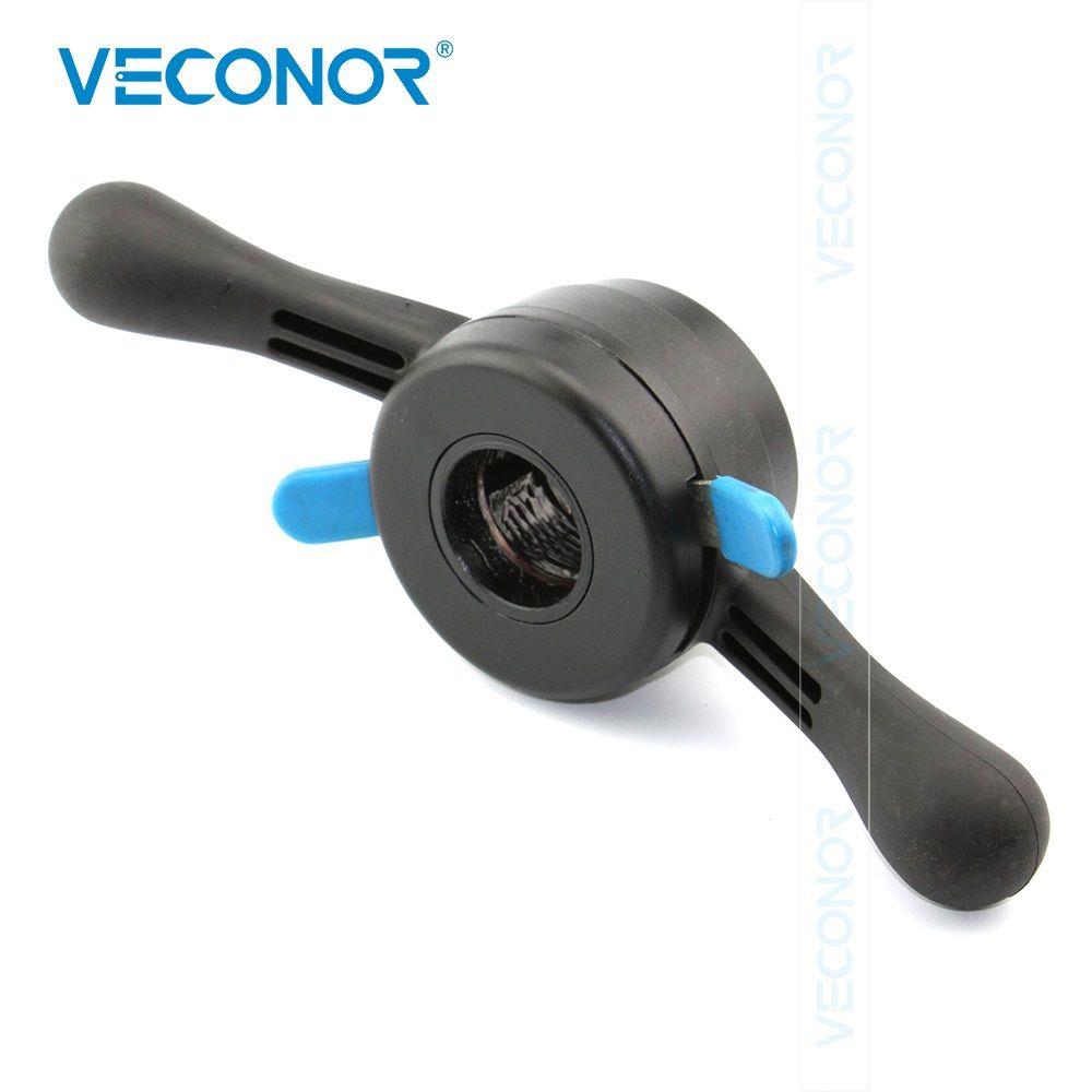 Veconor 38mm X 3mm pas rapide écrou écrou de crochet vis écrou à oreilles jante Insert écrou matière plastique rigide pour équilibreuse de roue Machine