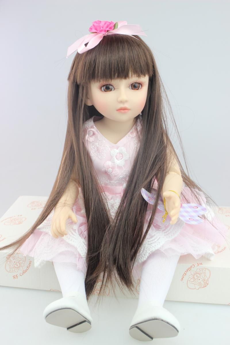 SD/BJD plastic baby doll lifelike princess doll dressing exercise doll for kid high-end christmas new year gift boutique