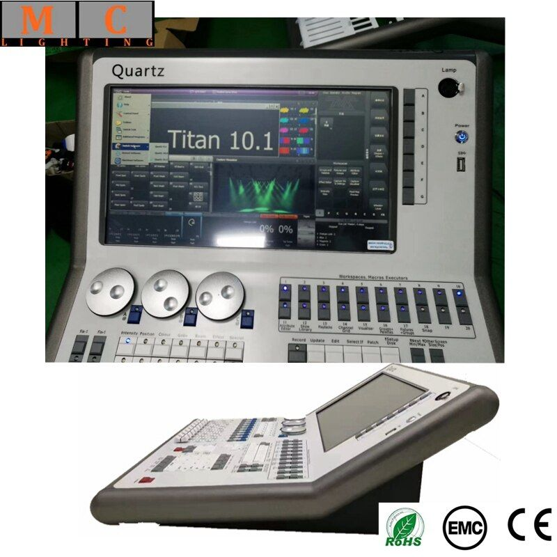 Quartz DMX Console Quartz v11 dmx controller with flycase