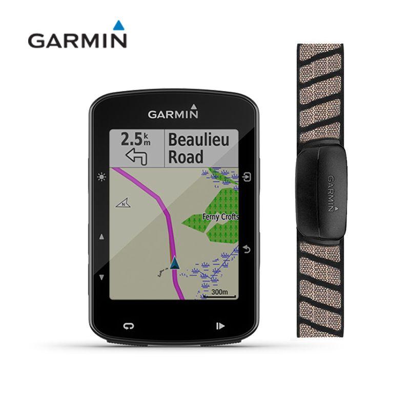 GARMIN Edge 520 PLUS [Herz rate sensor] GPS + GLONASS Aktiviert Fahrrad Computer Tacho IPX7 Wasserdicht