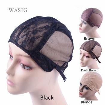 Chapeau de perruque pour la fabrication de perruques avec sangle réglable sur le dos tissage cap taille S/M/L sans colle perruque caps bonne qualité