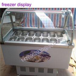 14 taste display refrigerator food freezer Ice Cream Display Cabinet Ice Cream Display Freezer