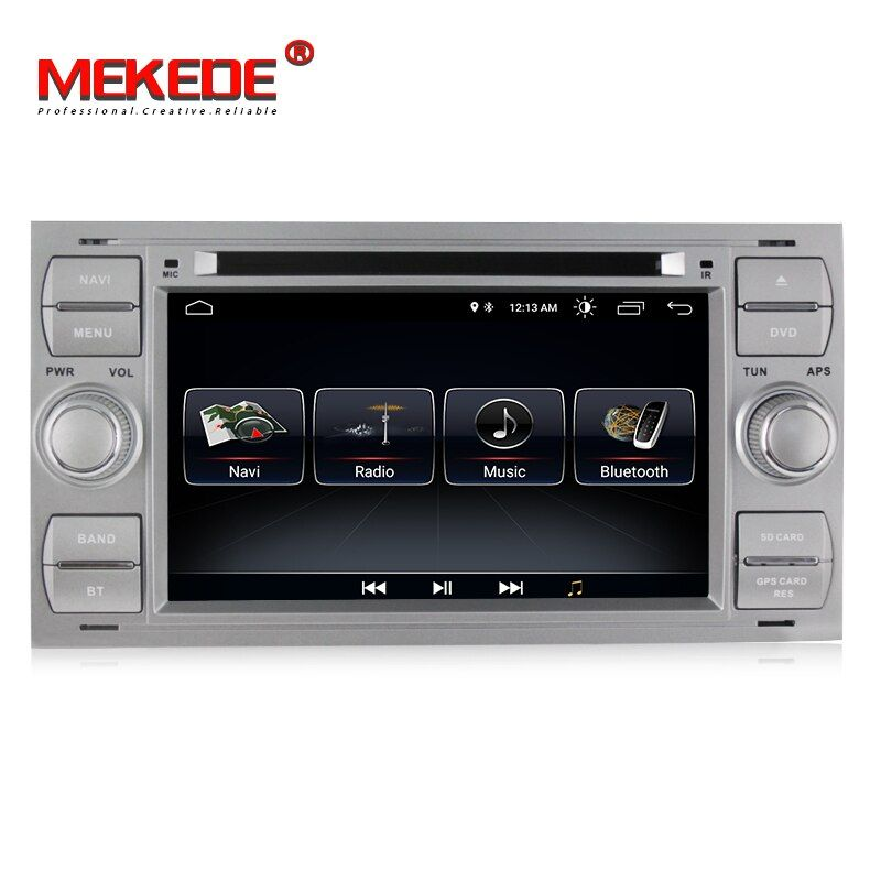1024x600 Android 8.0 For 2Din 7 Inch Car DVD for FORD FOCUS1 2005 2006 2007 Galaxy Transit With Radio GPS 1080P car dvd focus1