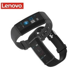 Lenovo HX03F Tahan Air Smart Gelang Gelang Kebugaran Tracker Bluetooth Smart Watch Monitor Detak Jantung Mendukung IOS/Android