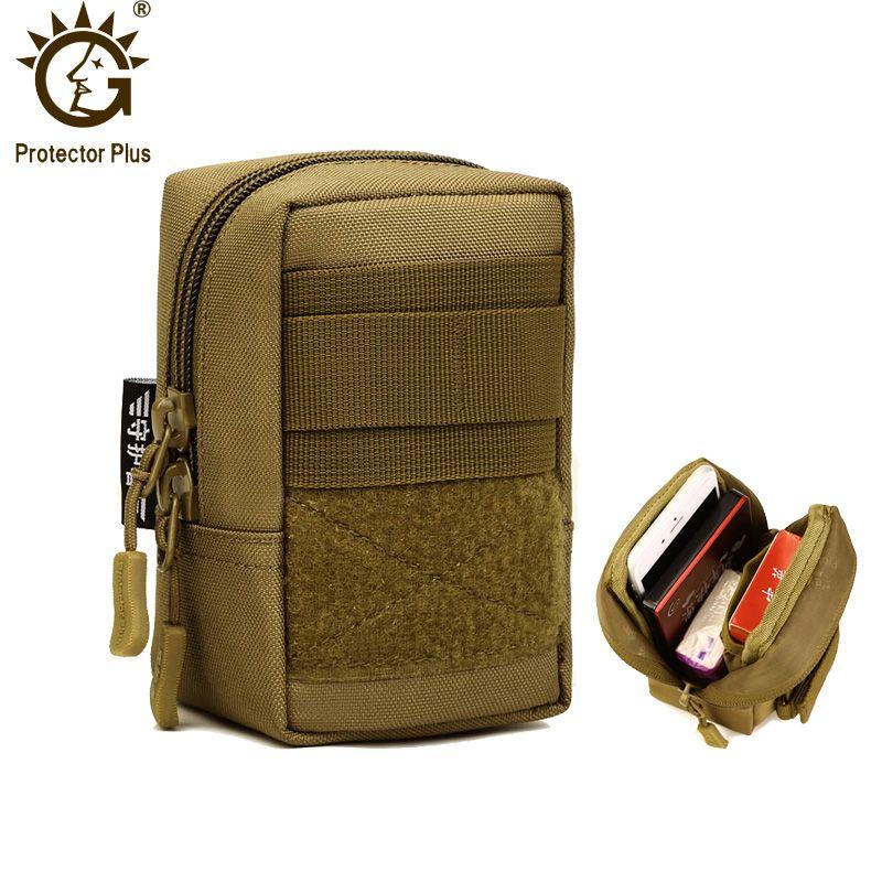 Протектор Плюс нейлон Тактические Молл Чехол Открытый небольшой Военная Униформа поясная армия EDC Молл сумка сумке 4.7 дюймов 4 цвета