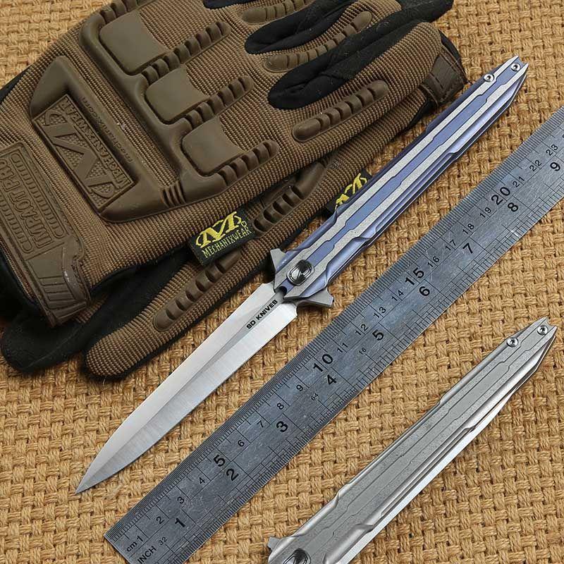 STEDEMON E01S taktik klapp messer VG10 klinge KVT kugellager titanium griff camping jagd outdoor survival Messer edc WERKZEUG
